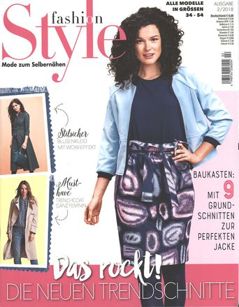 fashion Style - Modemagazin - 02/2018