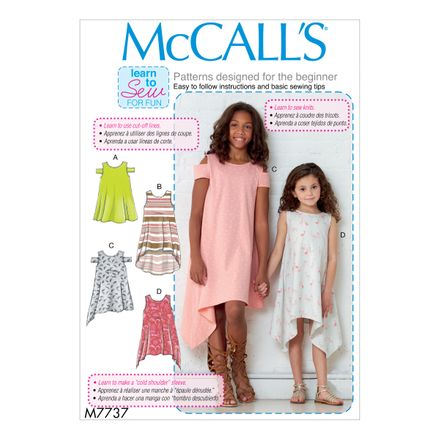 McCall´s Schnittmuster - 7737 - Kinder - Kleid