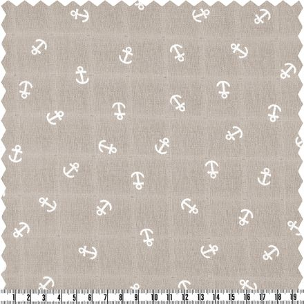 Cotton Musselin - beige