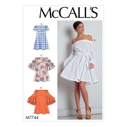 McCall´s Schnittmuster - 7744 - Damen - Kleid