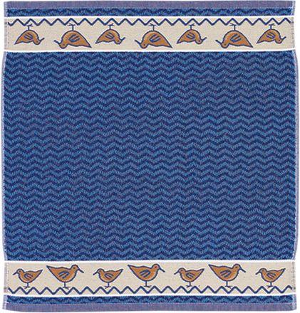 Frottier-Küchentuch - Möwe - blau - 50x50cm