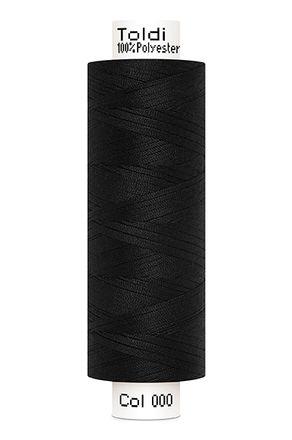 Gütermann® Nähgarn Toldi - 500m - schwarz