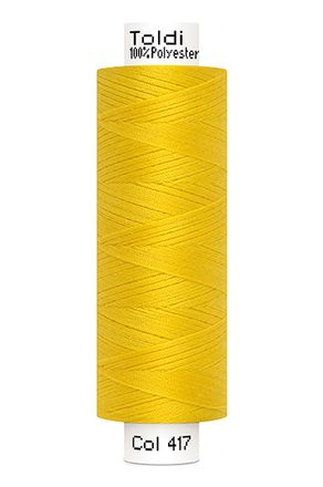 Gütermann® Nähgarn Toldi - 500m - gelb