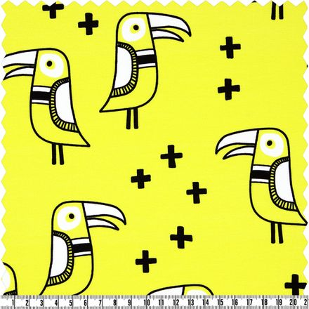 Mono Big Bird - Jersey  - gelb