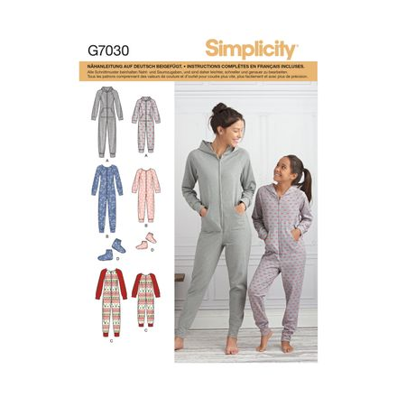 Simplicity 7030 Schnittmuster - Jumpsuit