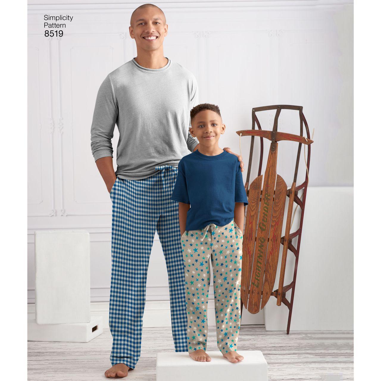 Kostenlos herren pyjama schnittmuster Schnittmuster von