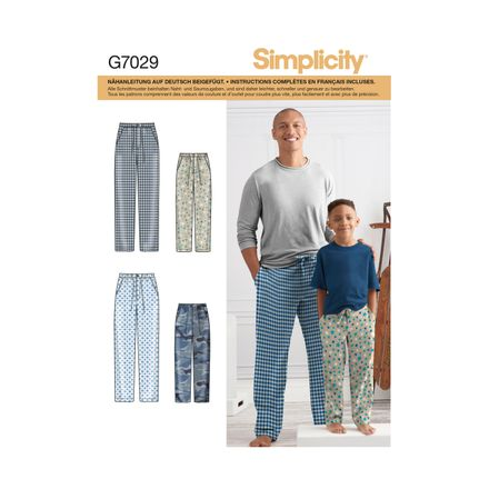 Simplicity 7029 Schnittmuster - Hose
