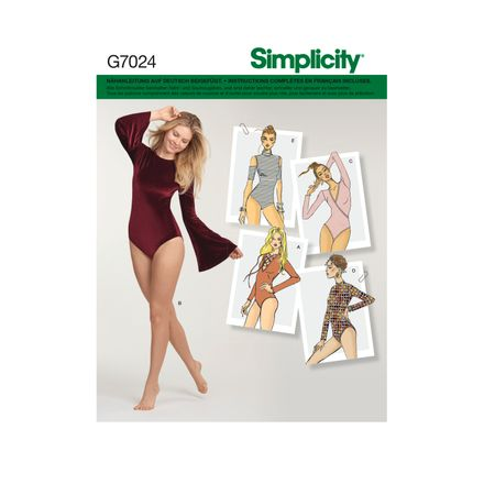 Simplicity 7024 Schnittmuster - Body