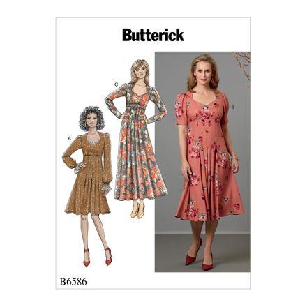 Butterick Schnittmuster - 6586 - Damen - Kleid