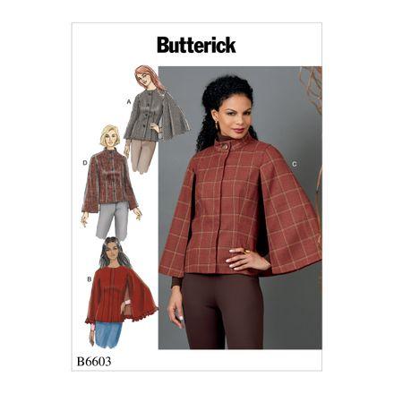 Butterick Schnittmuster - 6603 - Damen - Jacke