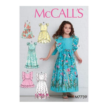 McCall´s Schnittmuster - 7739 - Kinder - Kleid