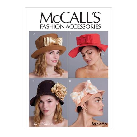 McCall´s Schnittmuster - 7766 - Accessoires - Hut