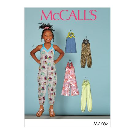 McCall´s Schnittmuster - 7767 - Kinder - Jumpsuit