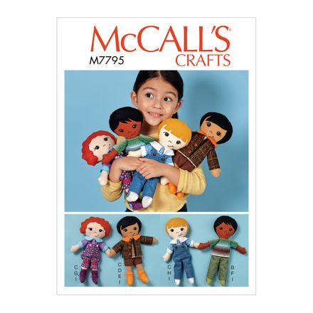 McCall´s Schnittmuster - 7795 - Kinder - Puppen
