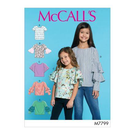 McCall´s Schnittmuster - 7799 - Kinder - Shirt