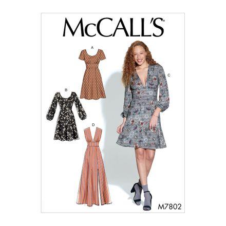 McCall´s Schnittmuster - 7802 - Damen - Kleid