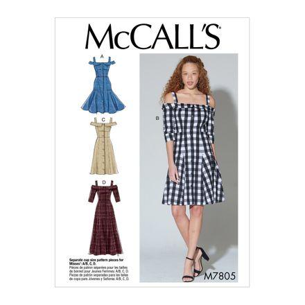 McCall´s Schnittmuster - 7804 - Damen - Kleid