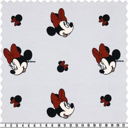 Jersey - Minnie Mouse - hellgrau