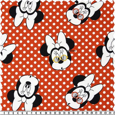 Jersey - Minnie Mouse - rot/weiß
