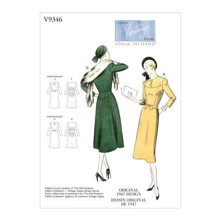 Vogue Schnittmuster V9346 - Damen - Kleid