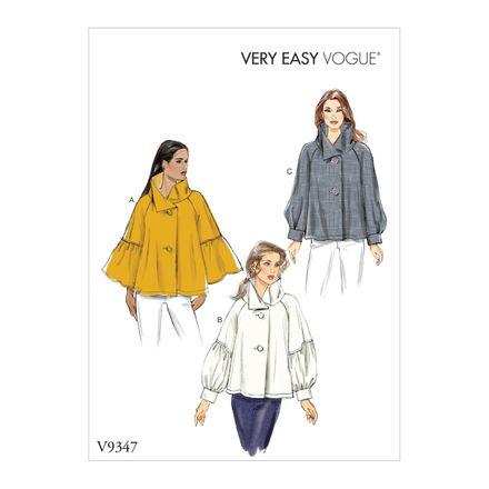 Vogue Schnittmuster V9347 - Damen - Bluse