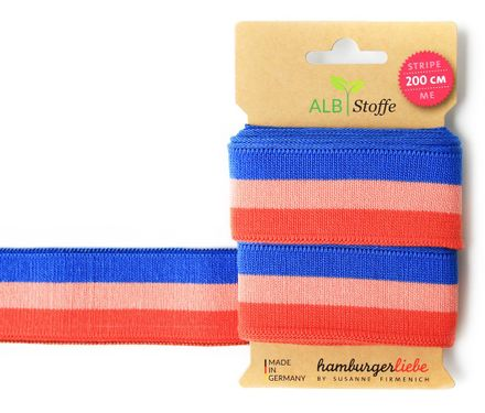 Stripe me College - Bänder - orange/blau