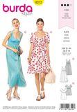 Burda Schnittmuster - 6312 - Damen Kleid 001