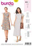 Burda Schnittmuster - 6339 - Damen Kleid 001