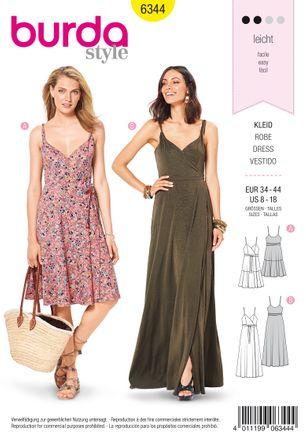 Burda Schnittmuster - 6344 - Damen Kleid