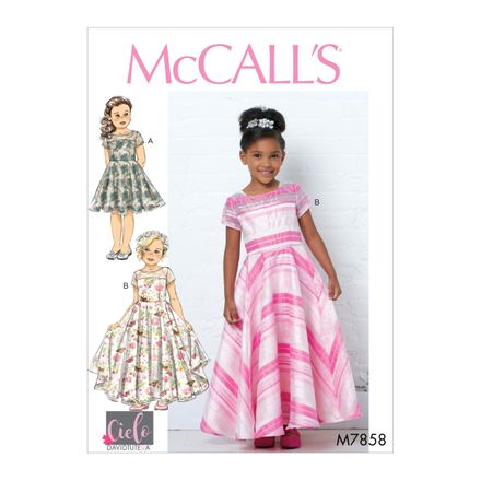 McCall´s Schnittmuster - 7858 - Kinder - Kleid