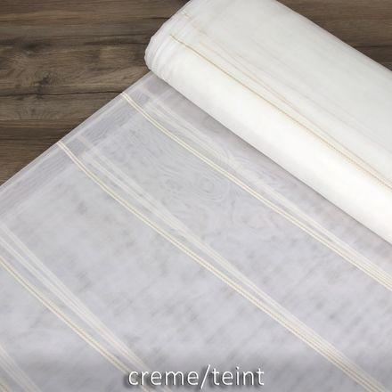 Voile-Store - 260 cm - Stripes - verschiedene Farben – Bild 8