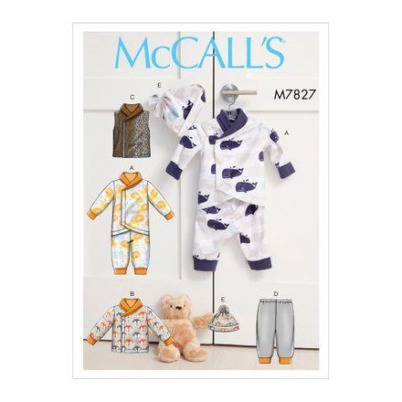 McCall´s Schnittmuster - 7827 - Kinder - Babybekleidung