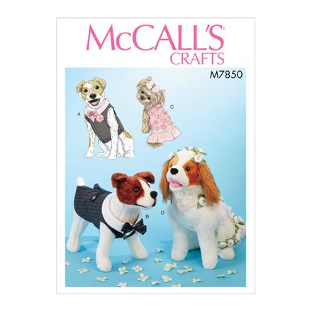 McCall´s Schnittmuster - 7850 - Accessoires - Hundemantel