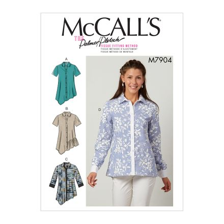 McCall´s Schnittmuster - 7904 - Damen - Bluse