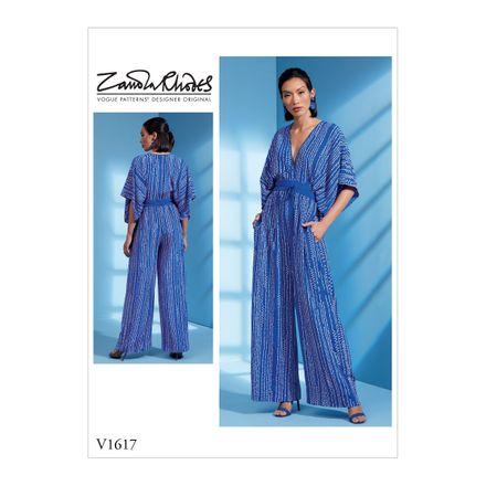 Vogue Schnittmuster V1617 - Damen - Jumpsuit