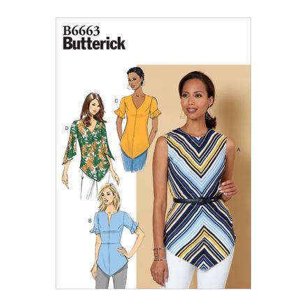 Butterick Schnittmuster - 6663 - Damen - Shirt