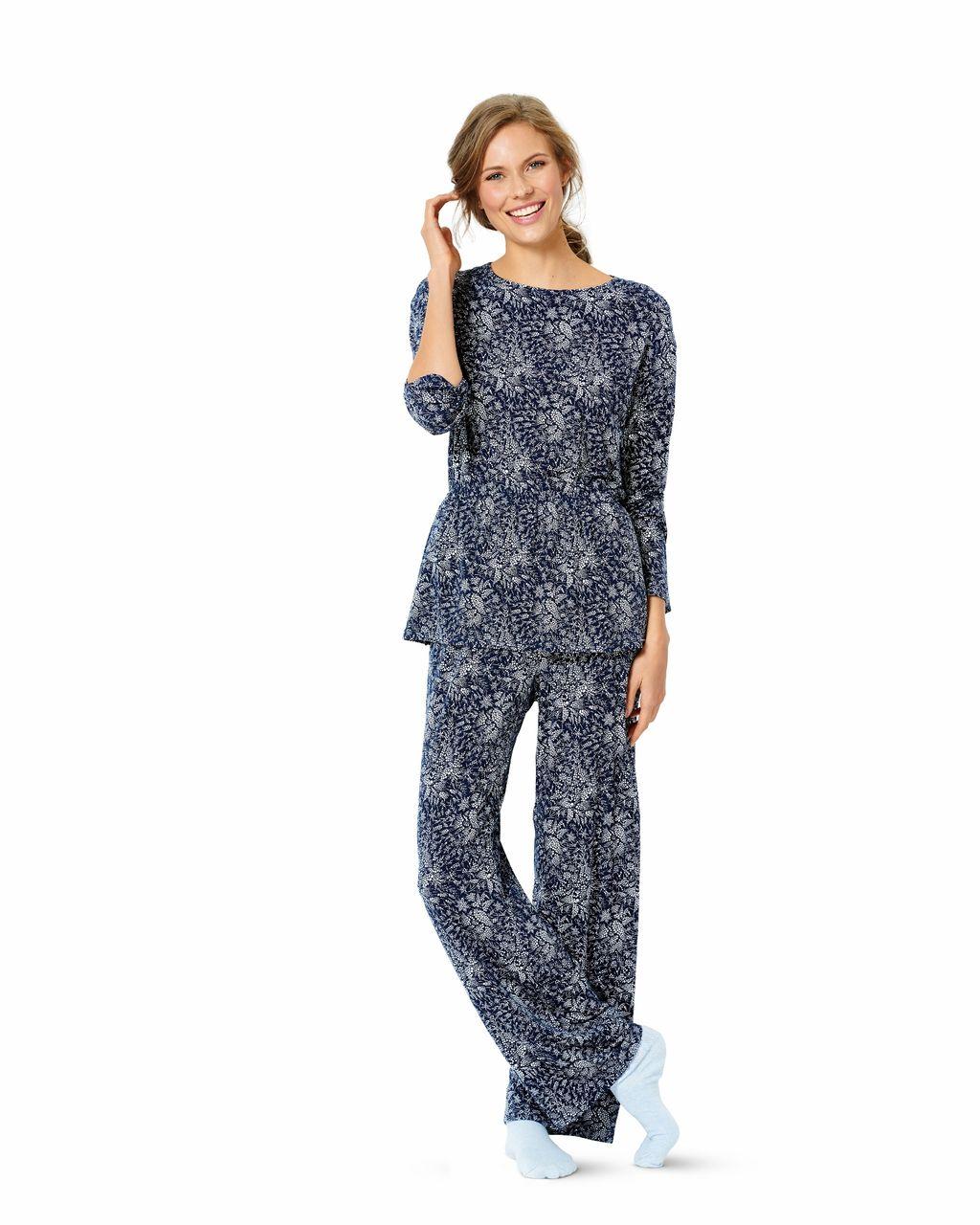 online store e8fd5 fa67c Burda Schnittmuster - 6261 - Damen Pyjama