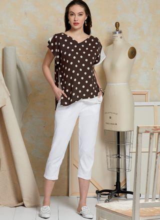 Vogue Schnittmuster V1630 - Damen Shirt und Hose – Bild 2