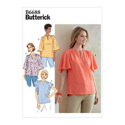 Butterick Schnittmuster - 6688 - Damen Shirt