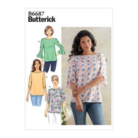 Butterick Schnittmuster - 6687 - Damen Shirt