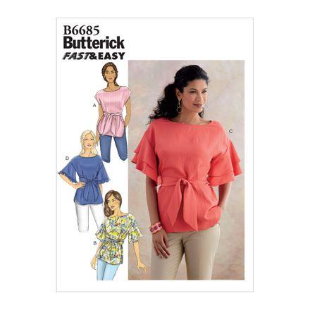 Butterick Schnittmuster - 6685 - Damen Bluse