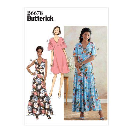 Butterick Schnittmuster - 6678 - Damen Kleid