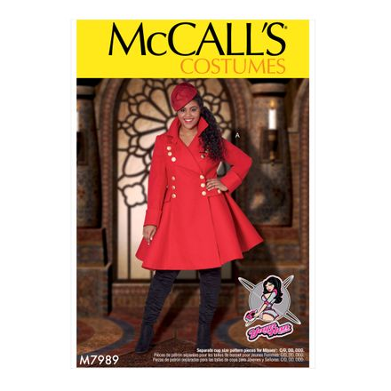 McCalls Costumes - Yaya Han Collection - Schnittmuster 7989 - Mantel