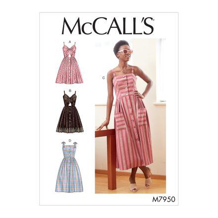 McCall´s Schnittmuster - 7950 - Damen - Kleid