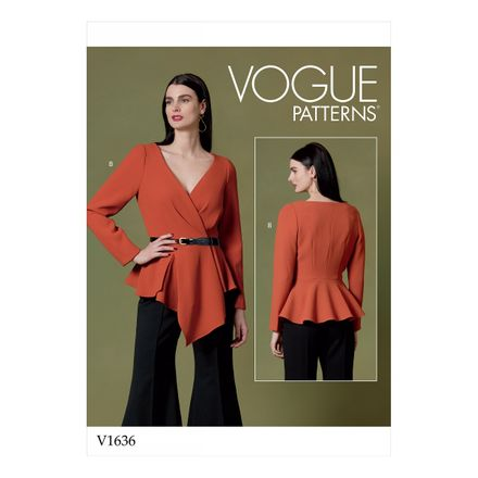 Vogue Schnittmuster V1636 - Damen Shirt