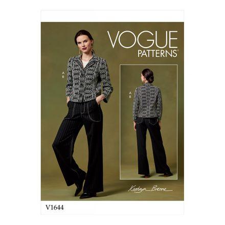 Vogue Schnittmuster V1644 - Damen Blazer & Hose