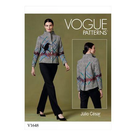 Vogue Schnittmuster V1648 - Damen Jacke