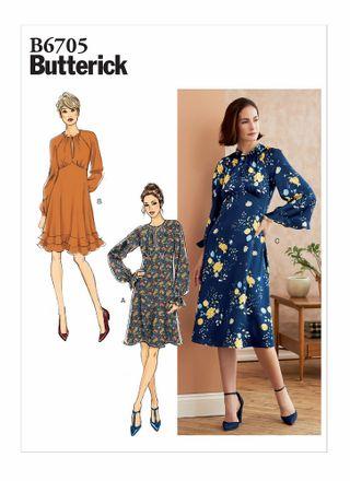 Butterick Schnittmuster - 6705 - Damen Kleid