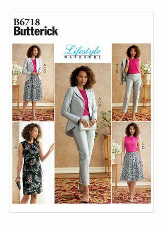 Butterick Schnittmuster - 6717 - Damen Jumpsuit