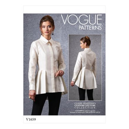 Vogue Schnittmuster V1659 - Damen Shirt
